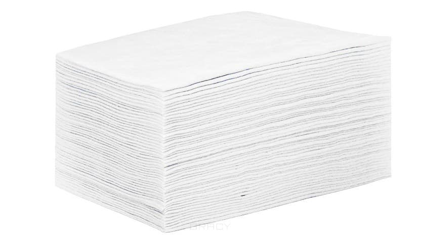 Igrobeauty, Простыня 80 х 200 см, 15г./м2 материал SMS поштучное сложение,   ( цвета), Белый,