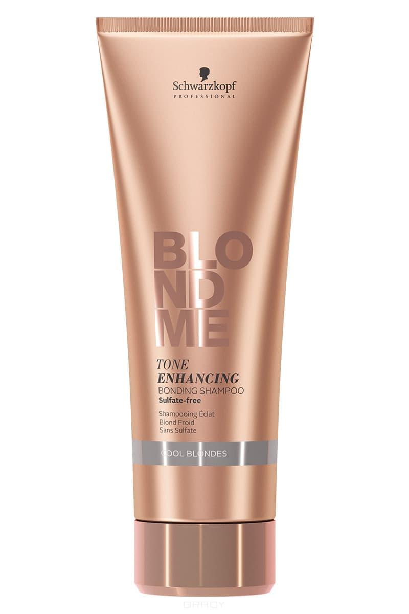 Schwarzkopf Professional, Фиолетовый шампунь для поддержания холодных оттенков блонд волос, 250 мл schwarzkopf шампунь для поддержания холодных оттенков светлых волос shampoo for cool blond 250 мл