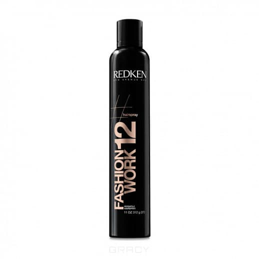 Спрей универсальный для фиксации волос Fashion Work 12, 400 мл