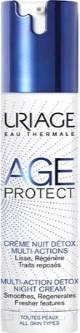 Uriage, Крем-детокс многофункциональный ночной Age Protect, 40 мл фото