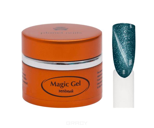 Planet Nails, Гель magic Gel магнитный Планет Нейлс, 5 г (8 оттенков) Гель magic Gel магнитный, 5 г planet nails гель magic gel магнитный 5 г 8 оттенков гель magic gel магнитный 5 г 5 г оливковый