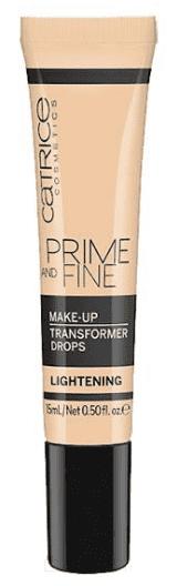 Корректор цвета тональной основы Prime and Fine Make Up Transformer Drops (lightening светлый)