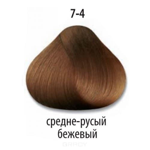 Constant Delight, Краска для волос Констант Делайт Trionfo (палитра 74 цвета), 60 мл 7-4 Средний русый бежевый constant delight крем краска delight trionfo 7 42 средний русый бежевый пепельный 60 мл
