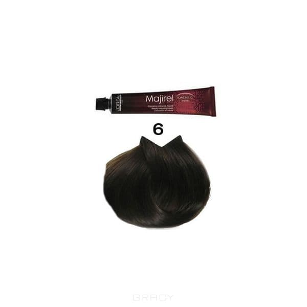 LOreal Professionnel, Крем-краска Мажирель Majirel, 50 мл (88 оттенков)  6. тёмный блондинОкрашивание<br><br>
