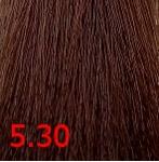 Купить Kaaral, Крем-краска для волос Baco Permament Haircolor, 100 мл (106 оттенков) 5.30 светлый золотистый каштан