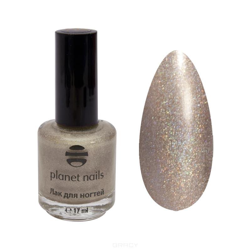 Planet Nails, Голографический лак для ногтей Планет Нейлс, 17 мл (34 оттенка) 202