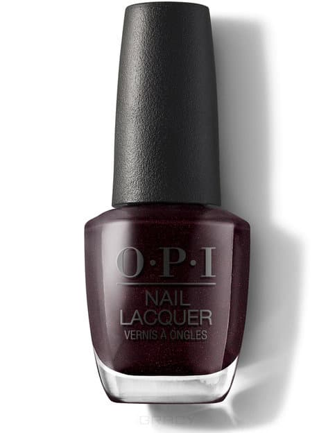 OPI, Лак для ногтей Nail Lacquer Nutcracker 2018, 15 мл (15 цветов) Black to Reality mbr40100ct to 220