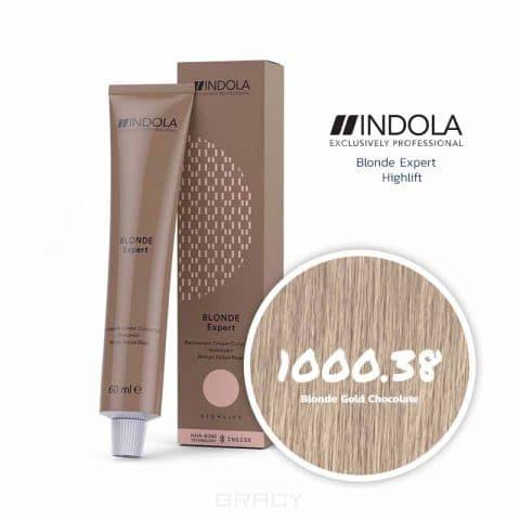 Indola, Индола краска для волос профессиональная Profession, 60 мл (палитра 141 цвет) Проф Блонд Эксперт Стойкая крем-краска д/вол 1000.38 блондин золотистый шоколадный
