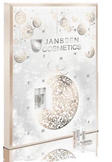 Подарочный Новогодний Календарь Ampoule Advent Calendar 2018r с ампулами 22 х 2 мл + 2 х 4 мл ультраувлажняющая сыворотка с гиалуроновой кислотой hyaluron fluid