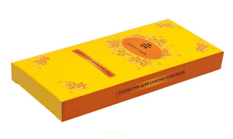 Planet Nails, Салфетки для снятия гель-лака с пропиткой, 20 шт/упОдноразовая продукция для салонов красоты<br><br>