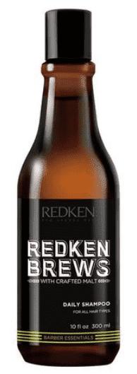 Redken, Мужской шампунь для всех типов волос Brews Daily Shampoo, 300 мл цена