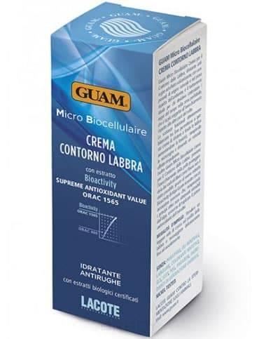 Guam, Крем для губ Micro Biocellulaire, 15 млMicro Biocellulaire - биоактивация кожи лица с экстрактом микроводорослей<br><br>