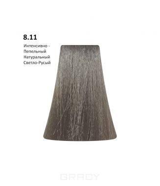 Купить BB One, Перманентная крем-краска Picasso (153 оттенка) 8.11Intensive Ash Natural Light Blond/Интенсивно-Пепельный Натуральный Светло-Русый
