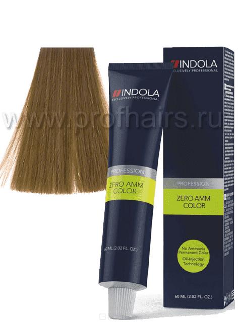 Indola, Zero Amm Стойкий краситель на маслной основе без аммиака, 60 мл (35 оттенков) 9-0 блондин натуральныйIndola Profession - окрашивание волос<br><br>