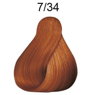 Купить Londa, Краска Лонда Профессионал Колор для волос Londa Professional Color (палитра 124 цвета), 60 мл 7/34 золотое пламя