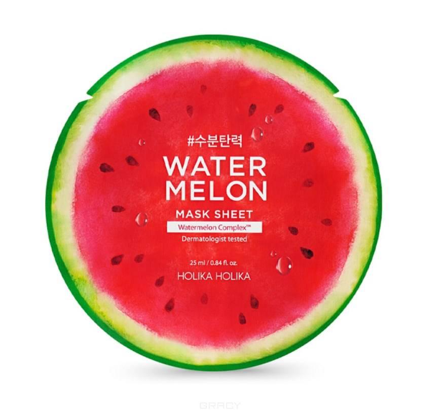 Купить Holika Holika, Water Melon Mask Sheet Тканевая маска для лица увлажняющая, 25 мл Холика Холика