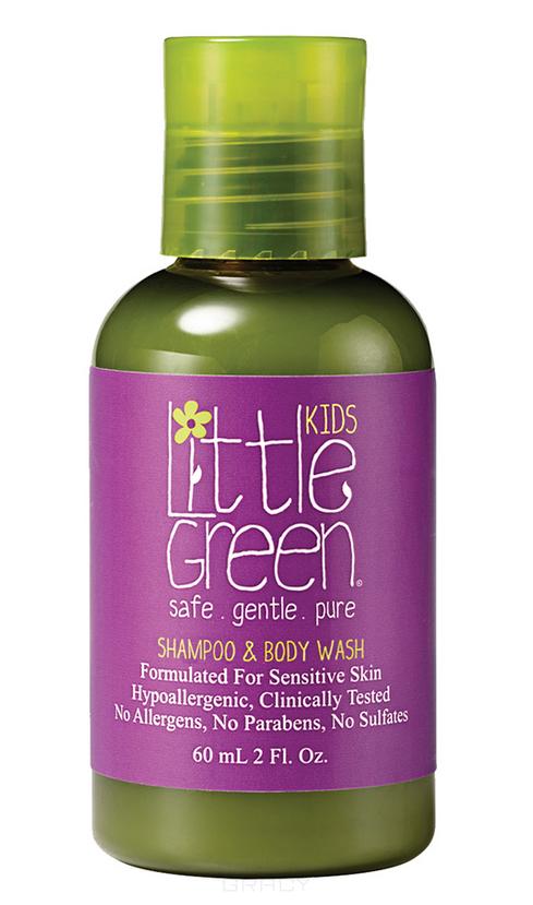 Купить Little Green, Шампунь и гель для тела Без слез Shampoo & Body Wash, 240 мл