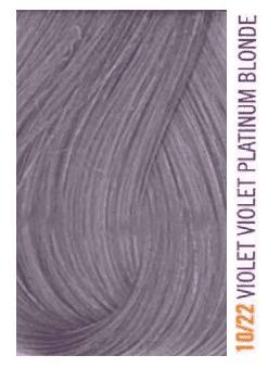 Купить Lakme, Крем-краска для волос тонирующая Gloss, 60 мл (54 оттенка) 10/22 Белокурый платиновый фиолетовый яркий