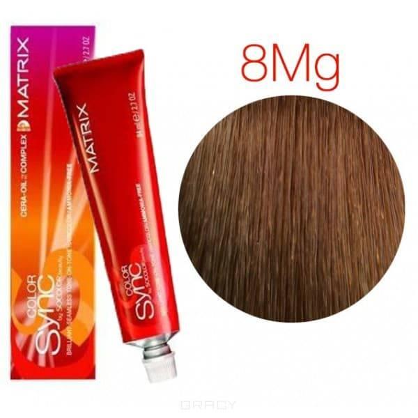 Matrix, Color Sync Краска для волос Матрикс Колор Синк (палитра 59 цветов), 90 мл 8MG светлый блондин мокка золотистый краска matrix color sync 8mg светлый блондин мокка золотистый 90мл