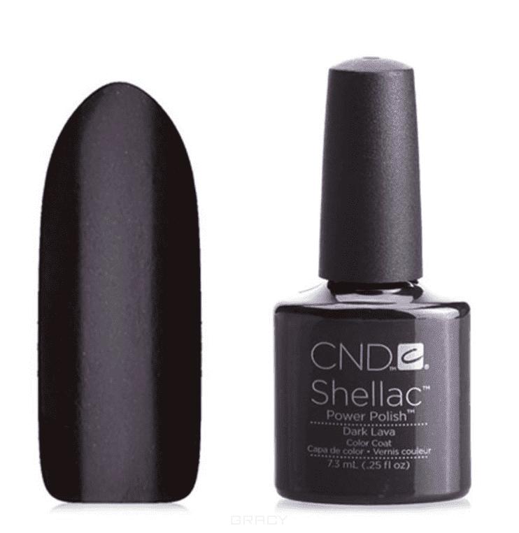 CND (Creative Nail Design), Гель-лак UV Shellac шеллак (58 оттенков) 037 Dark Lava cnd 058a покрытие гелевое steel gaze shellac 7 3мл