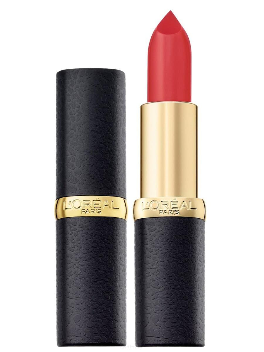 L'Oreal, Помада для губ Color Riche, 4,5 мл (36 оттенков) № 241 Незабываемый коралл матовая