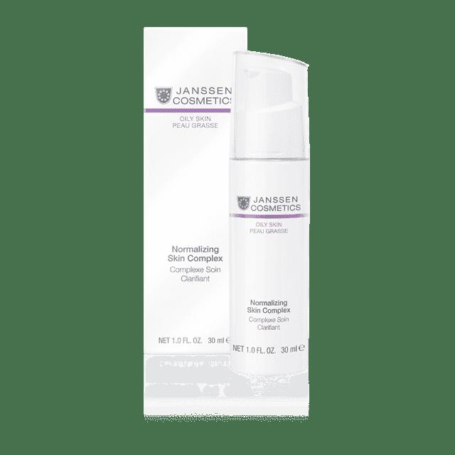 цены Janssen, Нормализующий концентрат для жирной кожи Normalizing Skin Complex Oily Skin, 50 мл