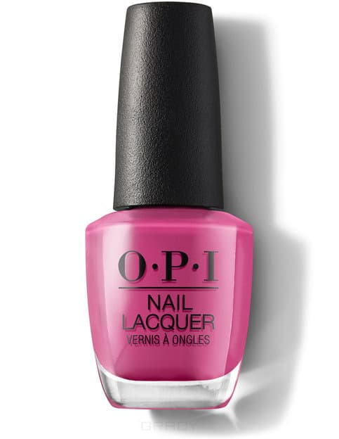 Купить OPI, Лак для ногтей Nail Lacquer, 15 мл (233 цвета) No Turning Back From Pink Street / Lisbon