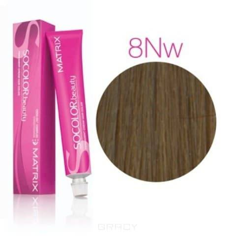 Matrix, Крем краска для волос SoColor.Beauty, 90 мл (палитра 141 оттенок) SOCOLOR.beauty 8NW натуральный теплый Светлый Блондин