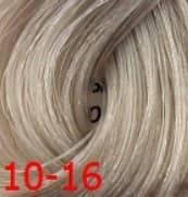 Estel, Краска для волос Princess Essex Color Cream, 60 мл (135 оттенков) 10/16 Светлый блондин пепельно-фиолетовый/Полярный лед estel estel princess essex краска для волос 10 34 светлый блондин золотисто медный шампань 60 мл