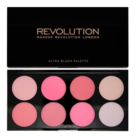 MakeUp Revolution, Палетка румян и корректоров Ultra Blush Palette, 13 гр