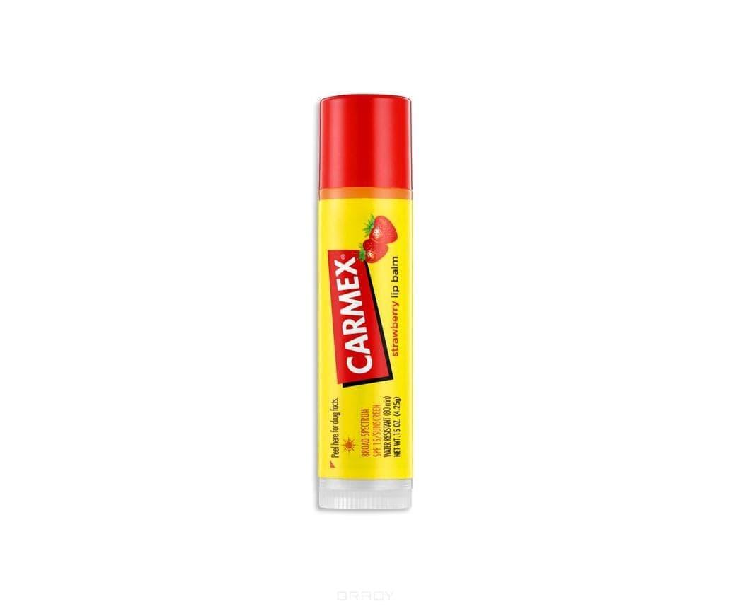 Carmex, Бальзам для губ Клубника Strawberry TwistЩетки для волос<br><br>