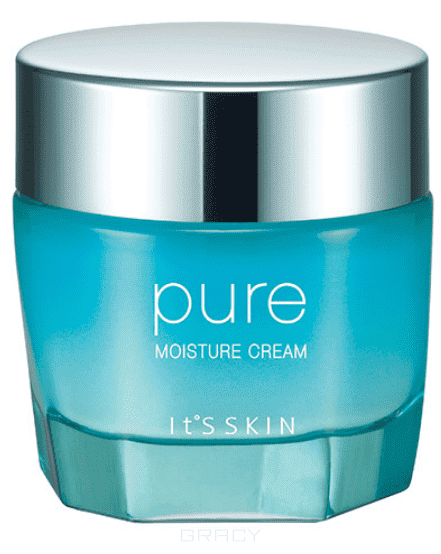 It's Skin, Увлажняющий крем для лица Пьюр Pure Moisture Cream, 100 мл крем enprani daysys pure melting cleansing cream объем 180 мл