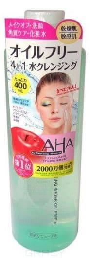 Купить BCL, Средство для очищения и снятия макияжа с фруктовыми кислотами Cleaning Research Cleansing Water Oil Free, 400 мл