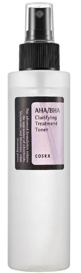 Купить CosRX, Мягкий очищающий тоник-спрей с кислотами AHA/BHA Clarifying Treatment Toner, 150 мл