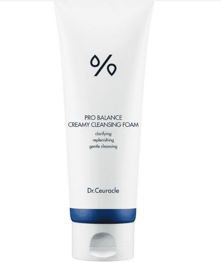 Dr.Ceuracle, Очищающая пенка для умывания с пробиотиками Pro-balance Creamy Cleansing Foam, 150 мл фото