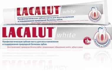 Lacalut, Промо-набор Зубная паста White, 75 мл + зеркальце в ПОДАРОК недорго, оригинальная цена