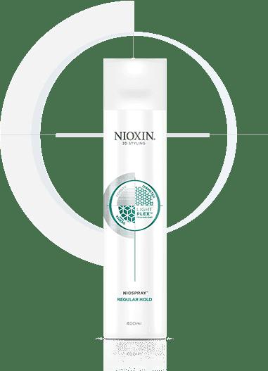 Nioxin, Лак спрей подвижной фиксации, 400 мл nioxin 3d styling therm activ protector термозащитный спрей 150 мл