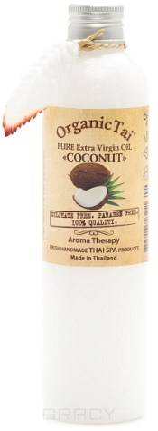 Купить Organic Tai, Масло для основного ухода за кожей, волосами и для массажа Pure Extra Virgin Oil Coconut , 260 мл