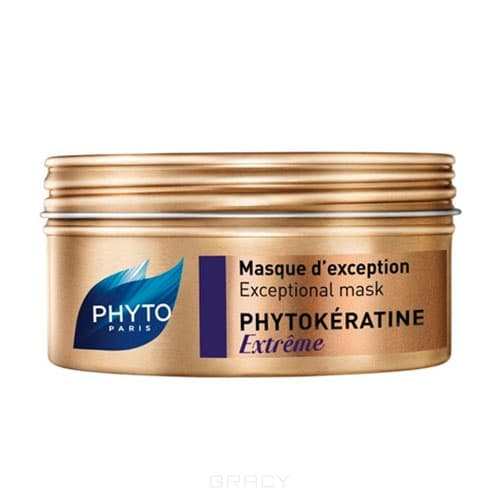 Phytosolba, Маска для волос Фитокератин Экстрем, 200 мл phytosolba фитокератин шампунь восстанавливающий 200 мл p340 фитокератин шампунь восстанавливающий 200 мл p340 200 мл