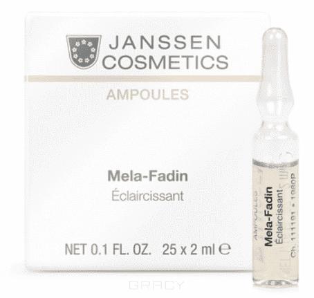 Janssen, Осветляющие ампулы (для пигментированной кожи) Мela-Fadin, 7х2 мл