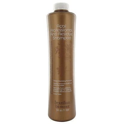 Шампунь Brazilian Blowout Anti-Res Shampoo, 1 лBrazilian Blowout Anti-Res Shampoo - это профессиональный глубоко очищающий шампунь, в основе которого - бразильская ягода асаи. Средство обеспечивает глубокое очищение волос. Его нанесение - это первый этап, подготавливающий волосы к последующему нанесению разглаживающего основного средства. Шампунь может быть использован для всех типов волос. &#13;<br>Наносить средство на волосы рекомендуется 2-5 раз в зависимости от их общего состояния.<br>