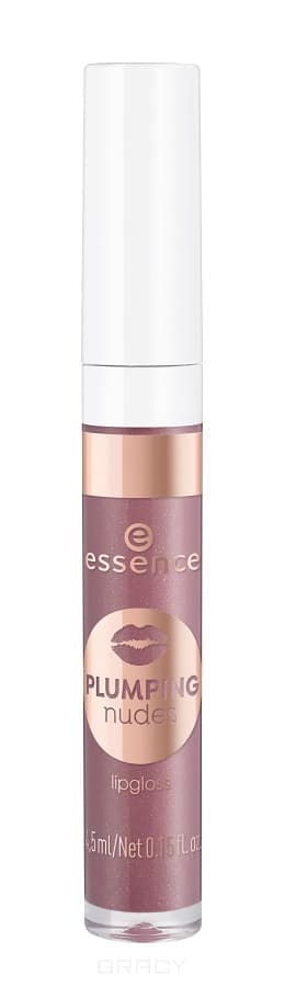Купить Essence, Блеск для губ Plumping Nudes Lipgloss, 4.5 мл (7 тонов) №07, винный