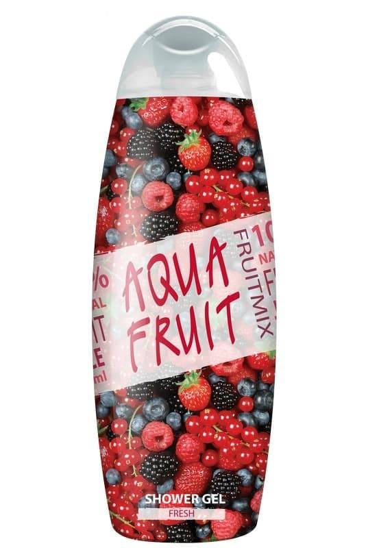AquaFruit, Гель для душа Fresh, 420 мл