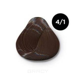 Купить OLLIN Professional, Перманентная крем-краска Ollin Сolor 60 мл ( 96 оттенков) 4/1 шатен пепельный