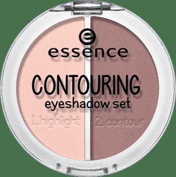 Контурирующая палетка теней для век Contouring Eyeshadow Set 2 в 1Описание:&#13;<br> &#13;<br> Скорректировать форму глаз? Легко! В этом тебе поможет невероятно крутая новинка от essence – палетка для контуринга глаз. палетка состоит из двух идеально подобранных оттенков теней для век, с помощью которых ты, как настоящий художник, расставишь светотени и подчеркнешь форму своих глаз. Благодаря пошаговой инструкции контуринг глаз станет простой и естественной частью ежедневного макияжа.<br>