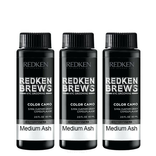 цена на Redken, Камуфляж седины Brews Color Camo,(5 тонов), 60 мл, 8N Светлый натуральный