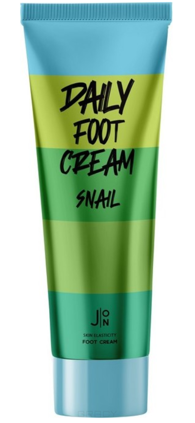 Крем для ног c муцином улитки Daily Foot Cream Snail, 100 мл