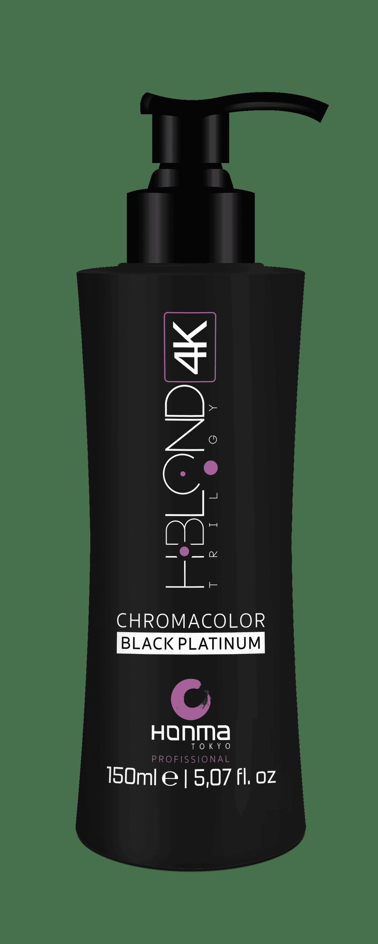 Купить Honma Tokyo, Тонирующая эмульсия для волос H-Blond Trilogy 4K / Nutriblond Solution Шаг 3, 150 мл (3 оттенка), 150 мл, Chromacolor Violet