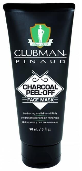 Купить Clubman, Очищающая черная маска для лица на основе угля Charcoal Peel-Off Face Mask, 90 мл
