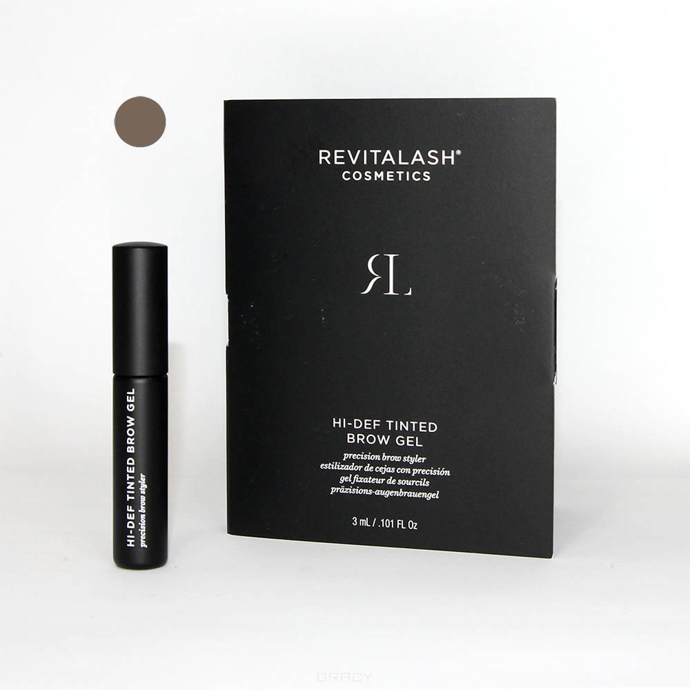 Купить RevitaLash, Гель для бровей с пептидами тонирующий Hi-Def Tinted Brow Gel (2 тона), 3 мл, Темно-коричневый (Dark Brown)